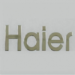 海尔家电镍片标牌