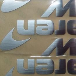 定做金属贴字标_超薄五金分体logo